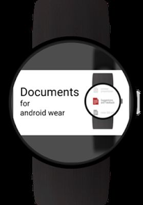 Documents for Android Wear video