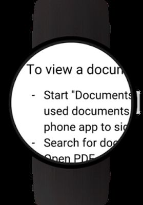 Image 2 of Documents for Android Wear