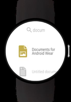 Screenshot 6 of Documents for Android Wear
