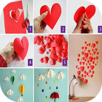 artesanías de papel de bricola apk icono