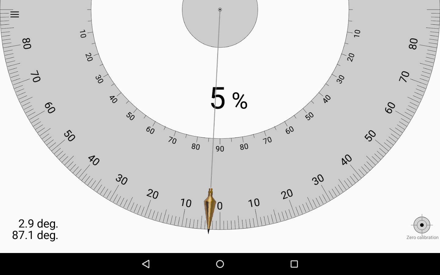 winkelmesser -smart protractor app android - kostenloser download