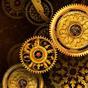 FREE Gold Clock Live Wallpaper 2.01