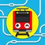 ツクレール 線路をつなぐ電車ゲーム 子供も大人も運転手気分 1.18