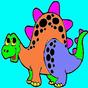 恐竜 - 子供のためのカラーリング 29