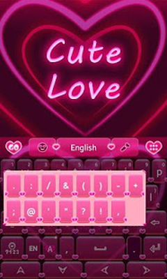 Cute Love GO Keyboard Theme 3 87 Android - Tải