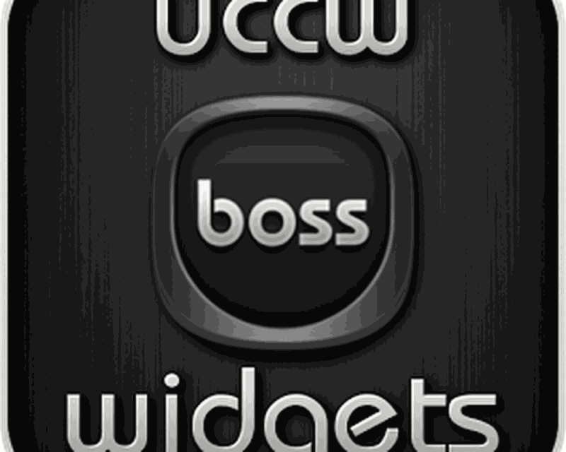 Boss - UCCW Widgets Skin Android - Free Download Boss