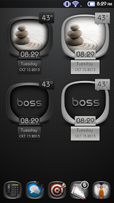 Boss - UCCW Widgets Skin Android - Free Download Boss - UCCW