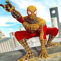 Flying Spider Hero City Rescue Mission apk icon