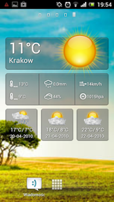 Cute Weather Widget Android - Free Download Cute Weather