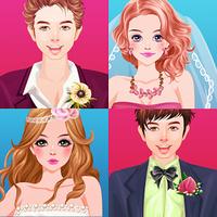 Bride and Groom Wedding games icon