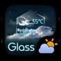 Glass GO Weather Widget Theme  APK