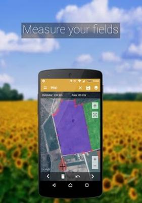 GPS Fields Area Measure adfree Android - Pobierz GPS Fields Area Measure  adfree za darmo