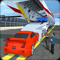 Araç Transporter Uçak Kargo Simgesi