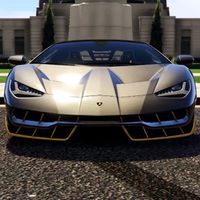Driving Lamborghini Simulator apk icon