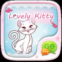 FREE-GO SMS LOVELY KITTY THEME icon