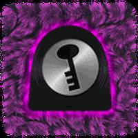 GO Locker- Pink Fur Theme APK Simgesi