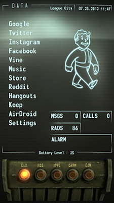 Download Fallout PipBoy UCCW (Paid) 1 0 free APK Android