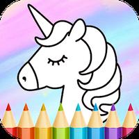 Ícone do Unicorn Coloring Book