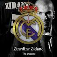 Ícone do Real Madrid Legends Zidane