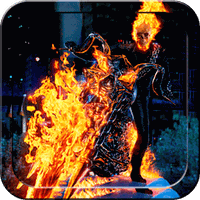 Ícone do Ghost Rider Live Wallpaper