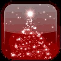 Ícone do Natal fundo dinâmicar