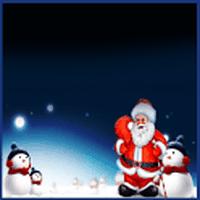 Ícone do GO SMS Tema de Natal