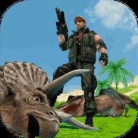 Dinosaur Mercenary 3D Simgesi