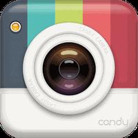 Ícone do apk Candy Camera - Sticker