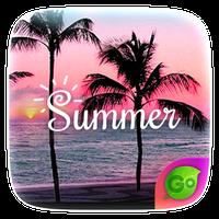 Summer GO Keyboard Theme icon