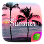 Summer GO Keyboard Theme 4.5