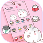 Kawaii gatinha tema copo gato wallpaper Cup cat  APK