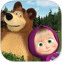 Masha and the Bear. Educational Games Simgesi