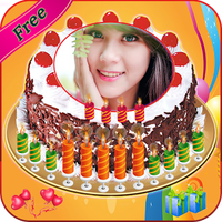 Name Photo On Birthday Cake Love Frames Editor Android