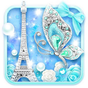 Turquoise Diamond Butterfly Live Wallpaper 1.1.6