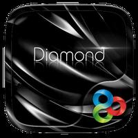 Black Diamond GOLauncher Theme icon