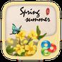 SpringSummer GO Launcher Theme v1.0