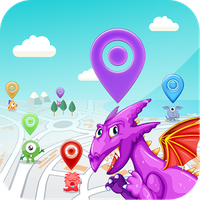Ikona apk DracoMesh - Real time map for Draconius GO