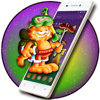 Garfield Cartoon Theme apk icon