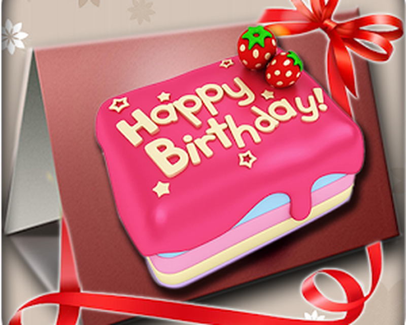 Imagen Happy Birthday Card Stickers 0big