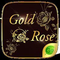 Gold Rose GO Keyboard Theme Simgesi