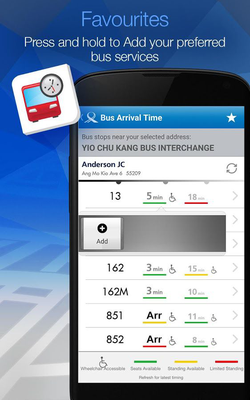 Mytransport Singapore Android Free Download Mytransport Singapore