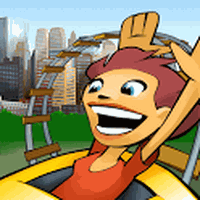 3D Rollercoaster Rush NewYork APK icon