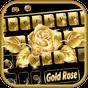 Lüks Altın Gül Klavye Tema 10001008