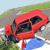 araba kaza imha Motor Hasar Simülatör APK Simgesi