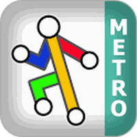Ícone do Paris Metro by Zuti