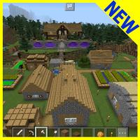 Ícone do apk Mapa de Survival Village MCPE