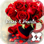 Cute wallpaper-Roses & Hearts 1.0.0