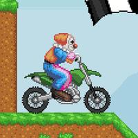 Clown Motokros - Yarış Oyunu APK Simgesi