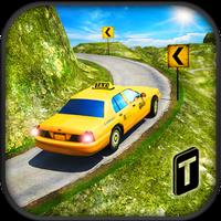 Ikon Taxi Driver 3D : Hill Station