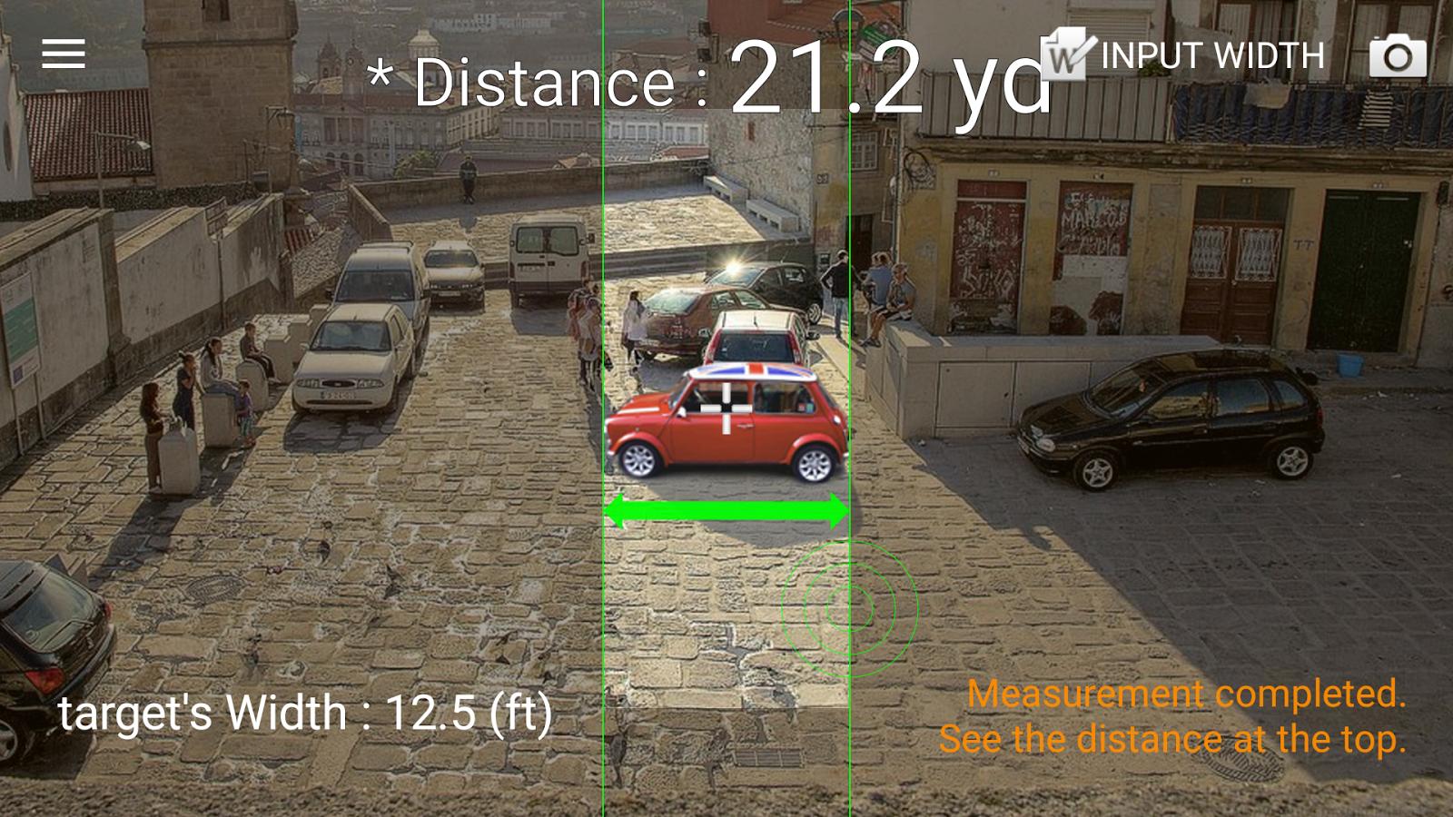 Entfernungsmesser Für Android : Entfernung smart distance app android kostenloser download